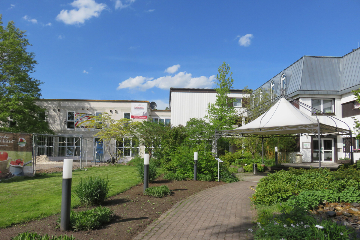 Bildungsstätte Gartenbau in Grünberg bei Gruppenunterkünfte
