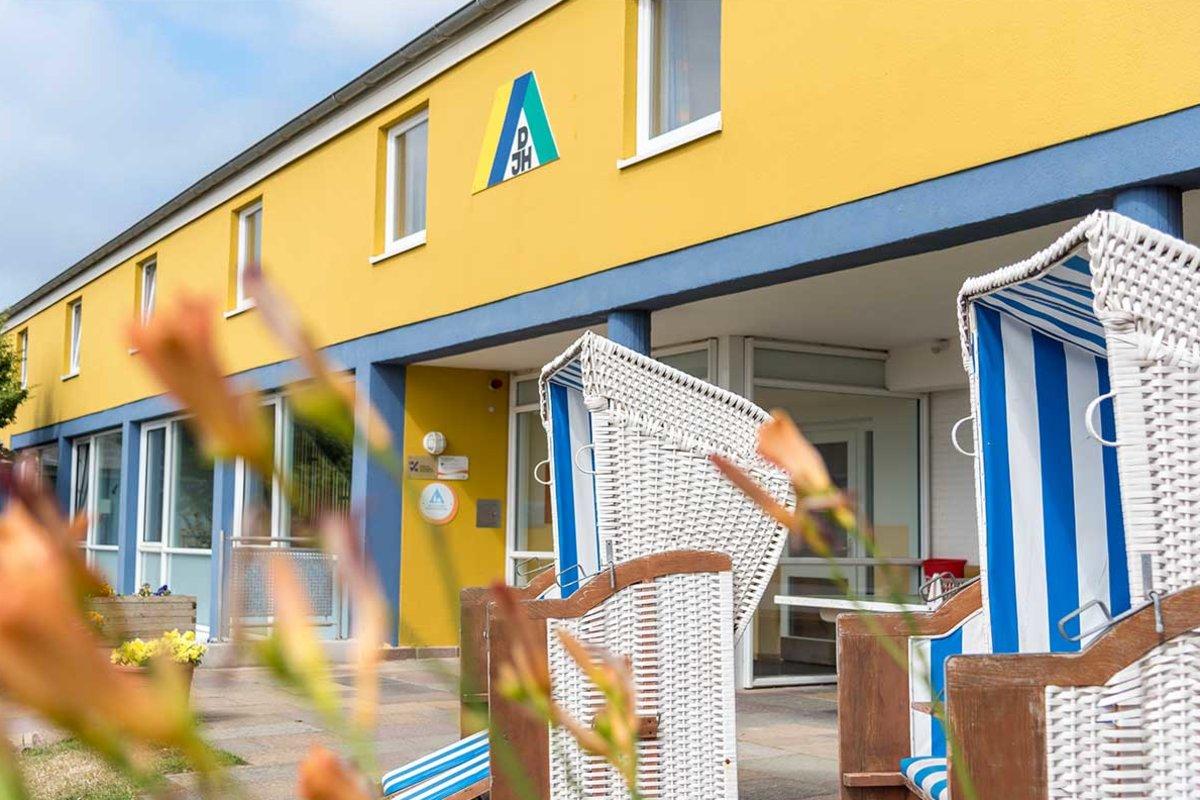 Haus der Jugend Jugendherberge Helgoland in Helgoland