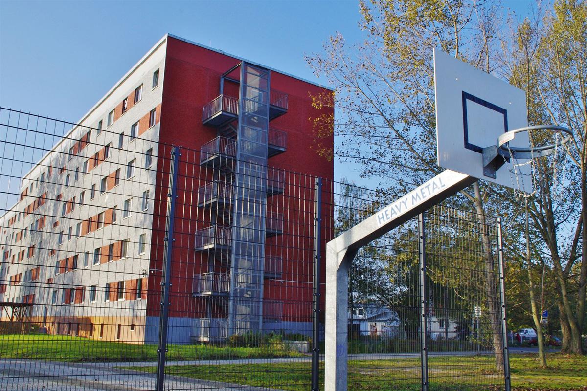 hostel haus pro social in berlin bei gruppenunterk nfte. Black Bedroom Furniture Sets. Home Design Ideas