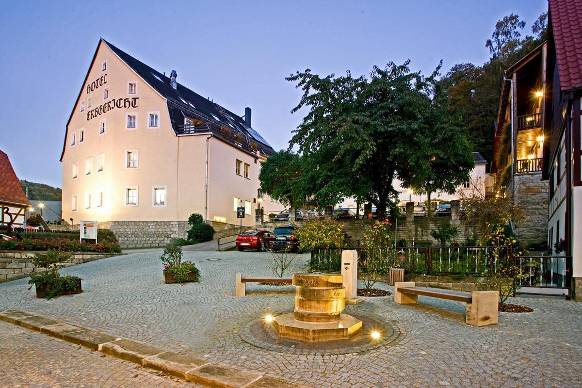 Hotel Erbgericht Bad Schandau Krippen