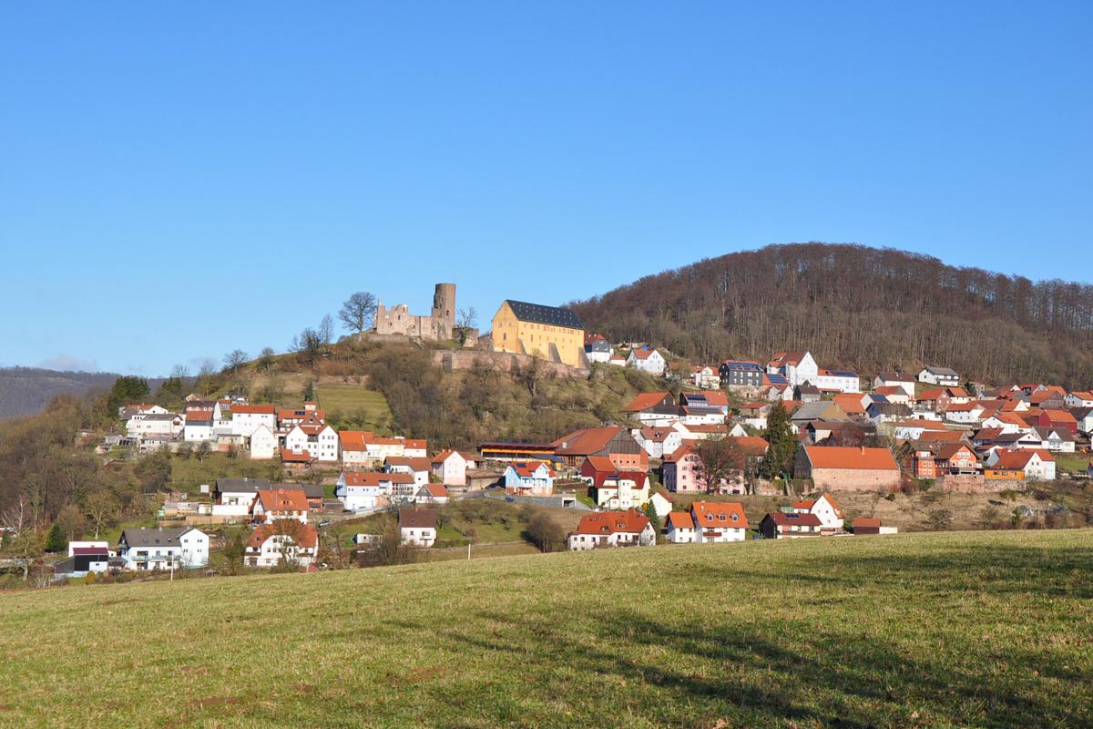 Jugendherberge Burg Schwarzenfels in Sinntal