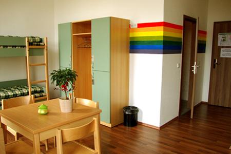 sleepy lion hostel youth hotel apartments leipzig in leipzig. Black Bedroom Furniture Sets. Home Design Ideas