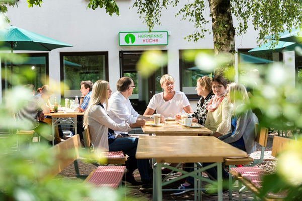Haus Neuland in Bielefeld bei Gruppenunterkünfte